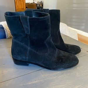Rebecca Minkoff Chasidy Suede Booties Size 7.5